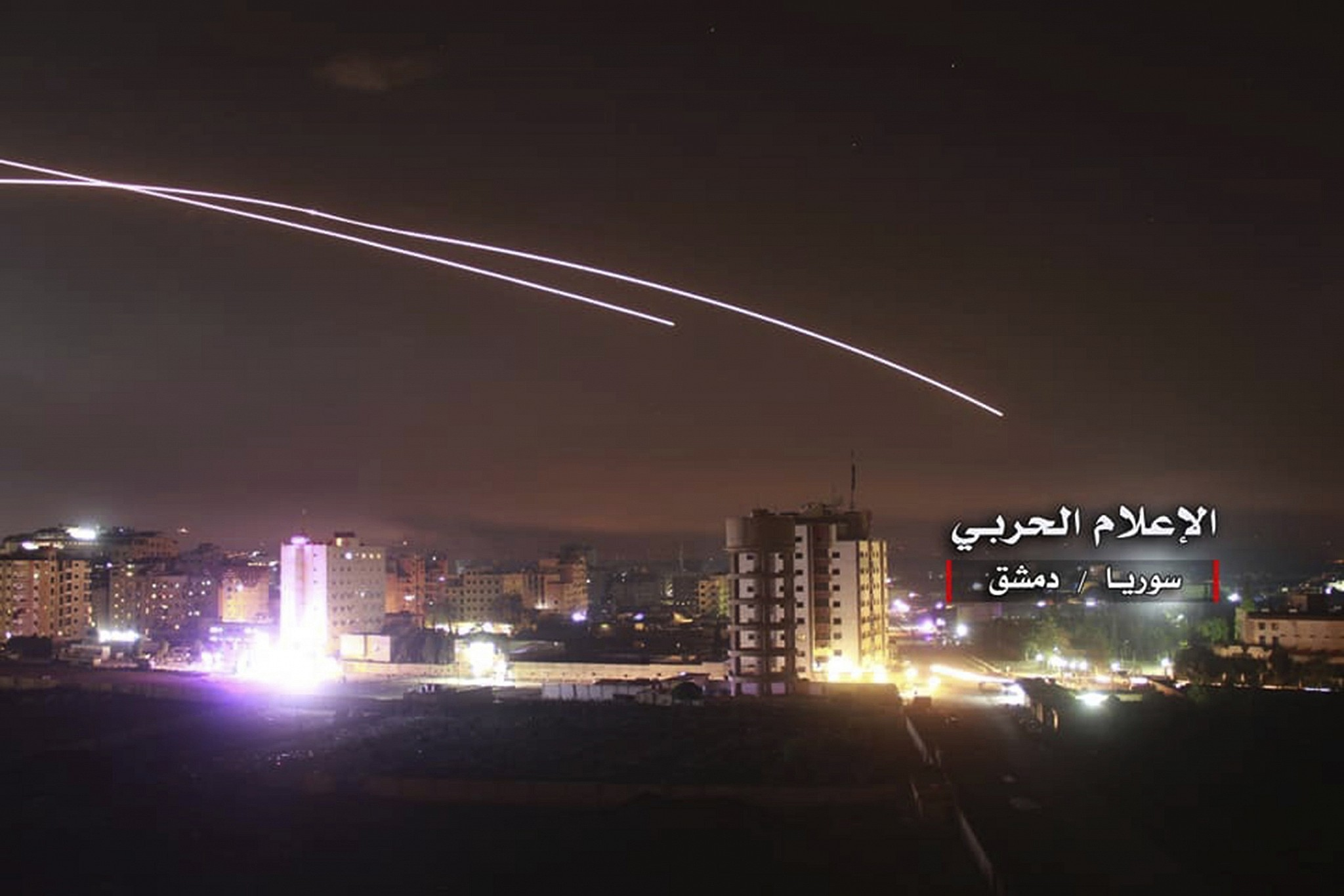 Israeli enemy targets a military site in Aleppo countryside