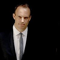 Britain's new Secretary of State for Exiting the European Union Dominic Raab leaves 10 Downing Street after it was announced he was appointed to the job in London, July 9, 2018 (AP Photo/Matt Dunham)