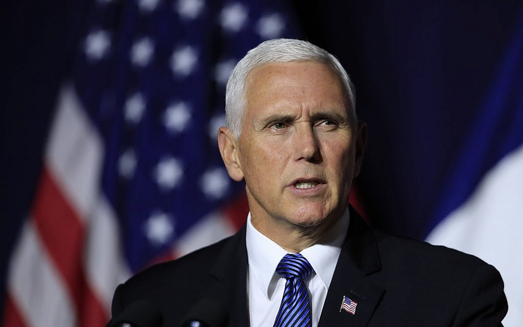 Jew Detector: Pence, Pompeo Reportedly Urged Trump To 'make