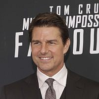 "Tom Cruise attends the US premiere of ""Mission: Impossible - Fallout"" at The Smithsonian National Air and Space Museum on Sunday, July 22, 2018 in Washington. (Brent N. Clarke/Invision/AP)"