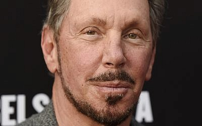 Oracle founder Larry Ellison poses at the Rebels With A Cause Gala at The Barker Hangar in Santa Monica, California, May 11, 2016. (Chris Pizzello/Invision/AP)