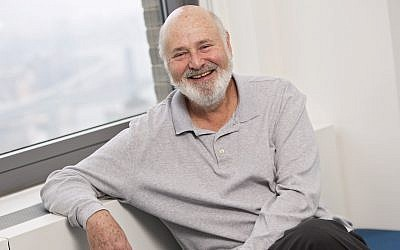 Writer-director Rob Reiner poses for a portrait in New York, May 2, 2016 (Brian Ach/Invision/AP)
