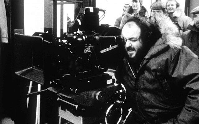 Film director Stanley Kubrick, in an undated picture during production of 'The Shining.' (AP Photo)