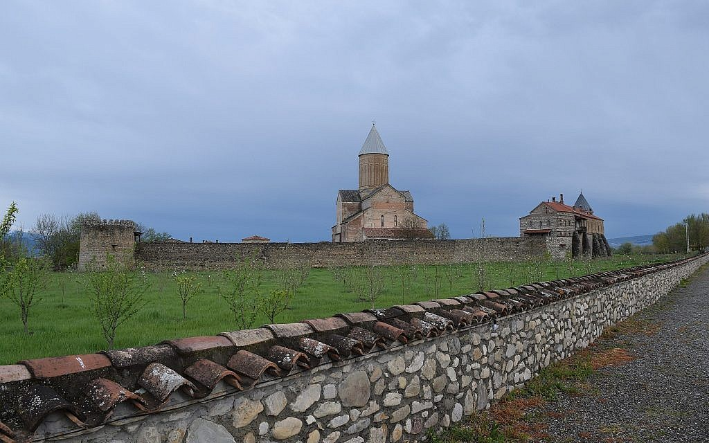 Alaverdi monastery and winery in the Republic of Georgia. (Courtesy Kevin Begos)