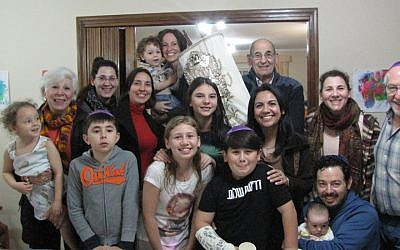 Most of Paraguay's 1,000 Jews live in Asuncion, where B'nai Jacob's Torah has found a new home. (Courtesy of Erin Jones-Avni/via JTA)