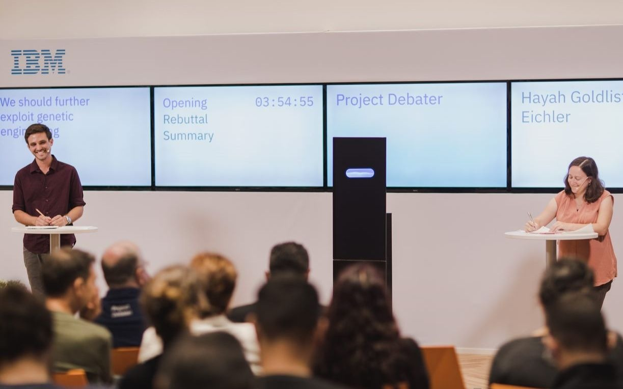 IBM showcases debating robot in Israel sired by Haifa team   The