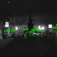 BrightWay Vision's night vision technology allows drivers to detect objects and people within a range of at least 250 meters (Courtesy)
