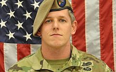Sgt. 1st Class Christopher A. Celiz was killed in action July 12 in Paktiya province, Afghanistan. (US Department of Defense via JTA)