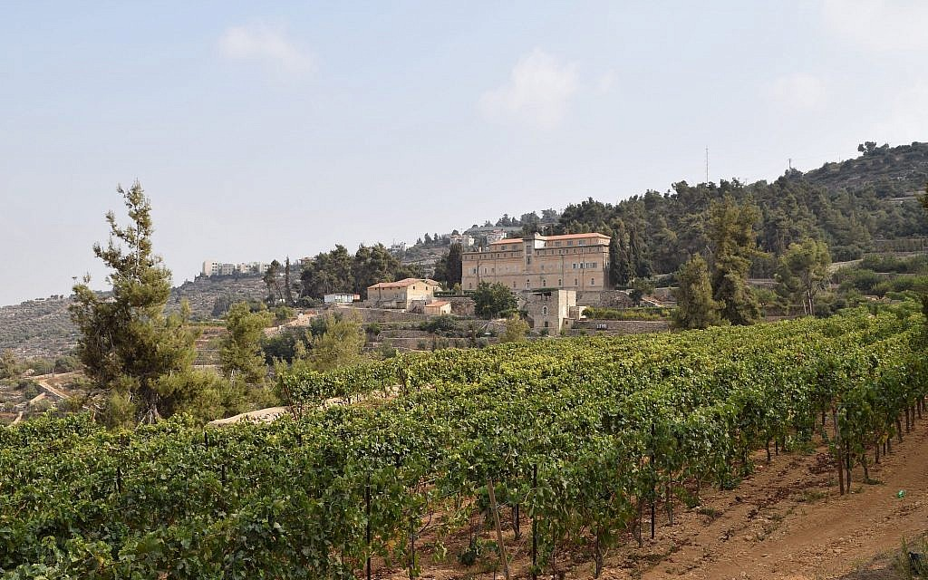 At Cremisan vineyards, monks have been making wine since 1885. (Courtesy Kevin Begos)
