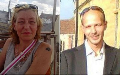 Composite photo of 44-year-old Dawn Sturgess (L) and 45-year-old Charlie Rowley. (Facebook)