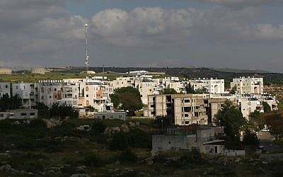 A general view of the Emmanuel settlement in the West Bank. 12, April, 2010. (Kobi Gideon/Flash90)