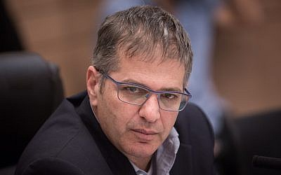 Likud MK Yoav Kisch at the Knesset on January 17, 2018 (Hadas Parush/Flash90)