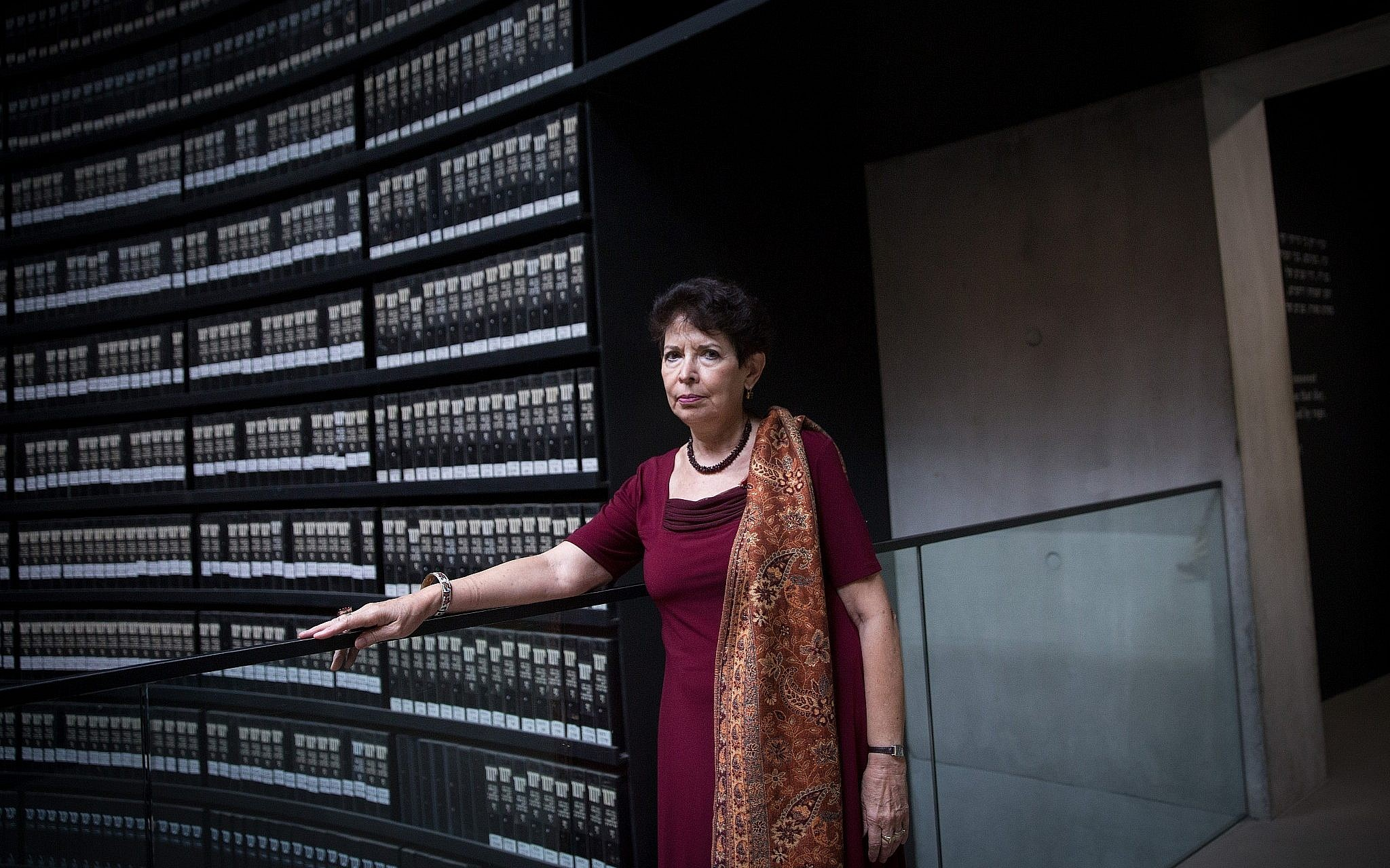 Dina Porat Chief Historian Of Yad Vashem Holocaust Memorial At The Museum On May
