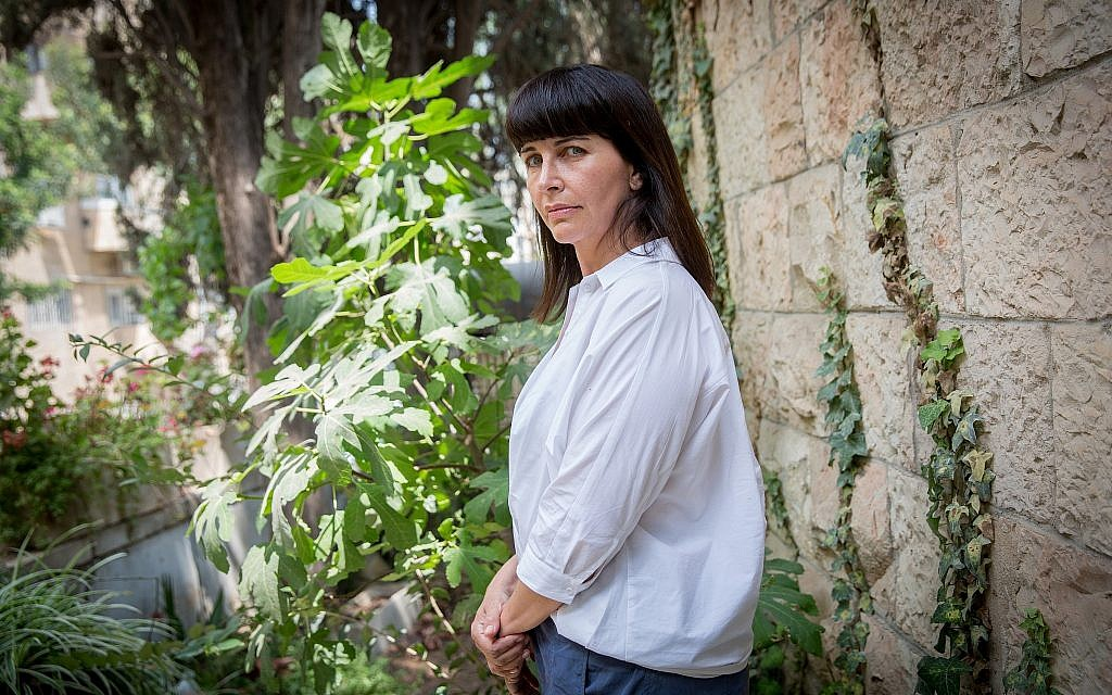 Former MK Einat Wilf in Jerusalem, May 29, 2018. (Miriam Alster/Flash90)