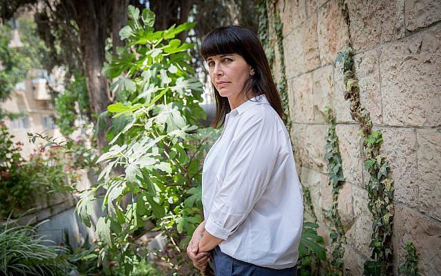 Former MK Einat Wilf in Jerusalem, May 29, 2018. (Miriam Alster/Flash90)