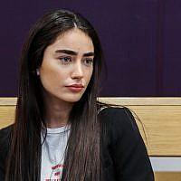 Elia Kadosh at Tel Aviv District Court on July 1, 2018 (Flash90)