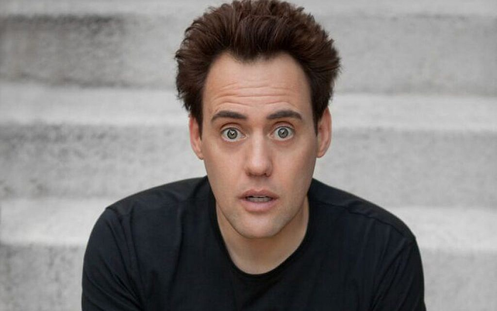 Orny Adams is headlining the 'Ethnic Show' at Montreal's prestigious Just For Laughs festival. (Courtesy of Just For Laughs/via JTA)