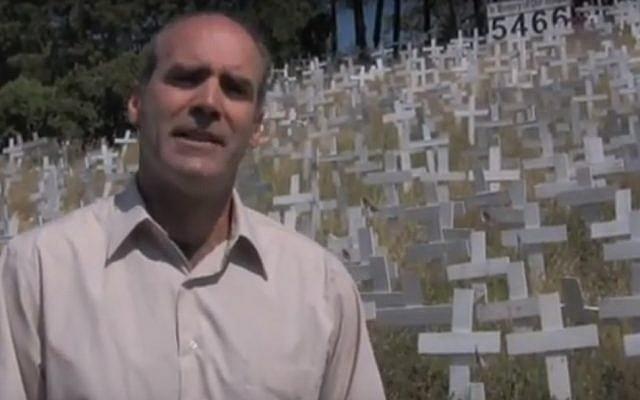 John Fitzgerald in a campaign video. (screen capture: YouTube)