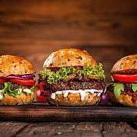 Illustrative image of hamburgers (Kesu01; iStock by Getty Images)