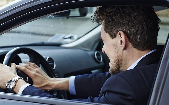 Illustrative: An aggressive driver. (SanneBerg, iStock by Getty Images)