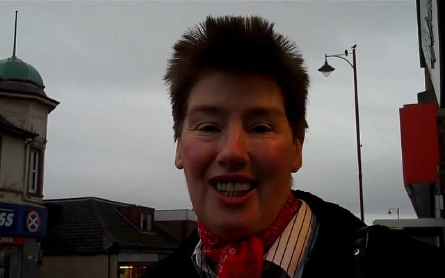 Scottish Labour councilwoman Mary Bain Lockhart in 2010. (Screen capture: YouTube)