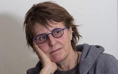 Kay Wilson, survivor of a 2010 stabbing terror attack in a forest southwest of Jerusalem. (Anne Dubitsky)