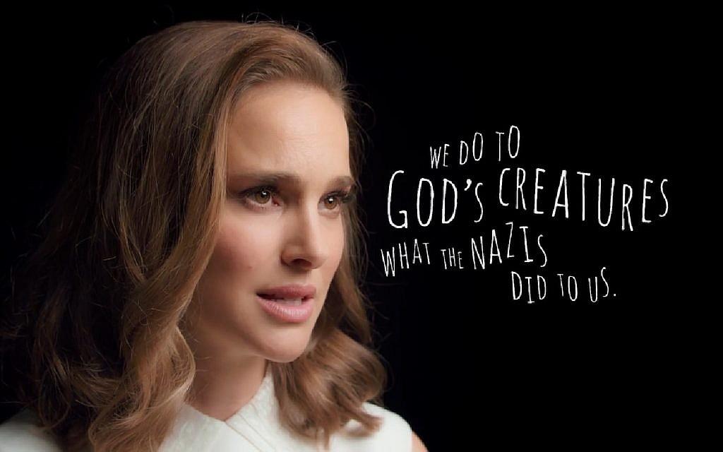 Natalie Portman video for PETA compares animal treatment to Holocaust