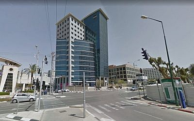 A view of the NSO Group headquarters in Herzliya. (Screen capture: Google Street View)