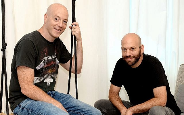 Oudi and Roy Antebi, the founders of Israeli startup Redkix, which was sold to Facebook for an undisclosed amount on July 26, 2018 (Courtesy)