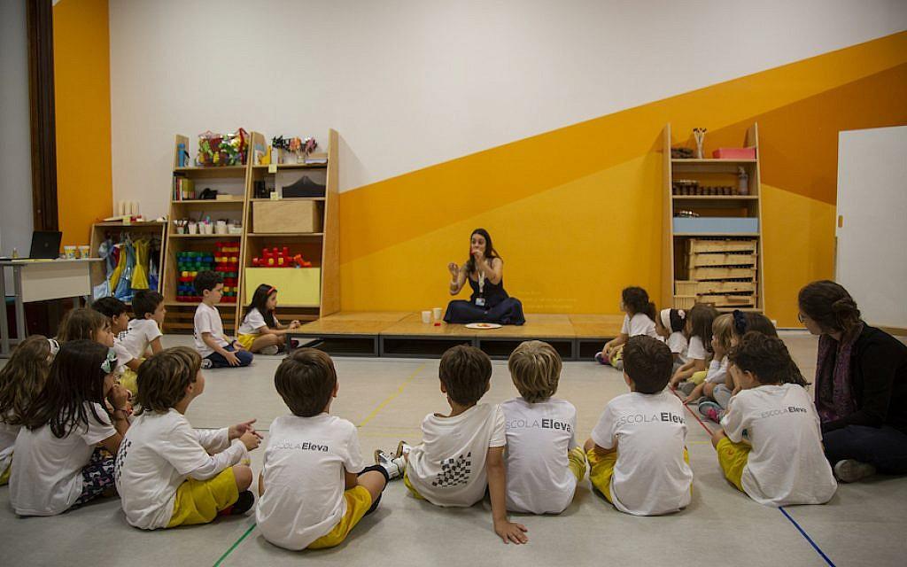 The Eleva school is the latest project of Jorge Paulo Lemann, Brazil's richest man. (Courtesy of Eleva/via JTA)