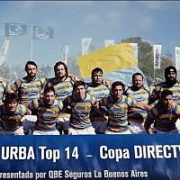 The Buenos Aires-based Hindu Club rugby team. (screen capture: YouTube)
