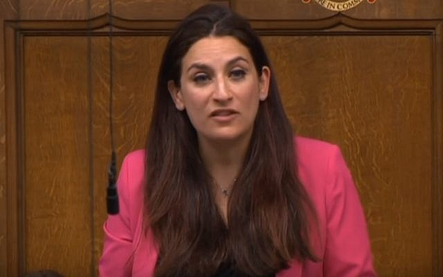 Luciana Berger,a Jewish MP who is a leader of the Jewish Labour Movement (YouTube screenshot)