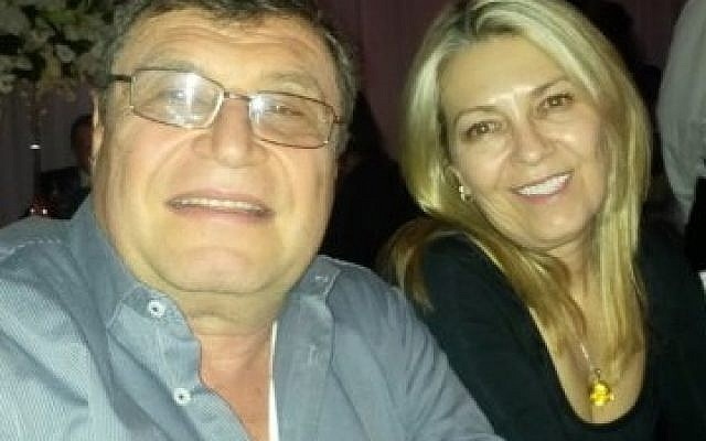 Sergio Kowensky (left), the head of Likud South Africa who was killed in Johannesburg, South Africa. (Courtesy)