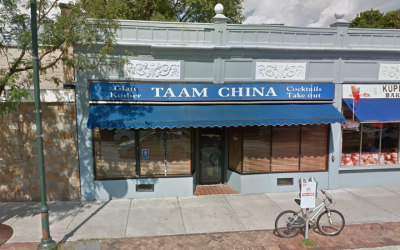 A view of Taam China in Brookline, Mass. (Google Maps via JTA)