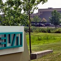The Horsham, Pennsylvania, offices of Teva Pharmaceuticals (AP Photo/George Widman)