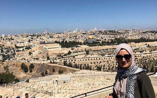 Ebru Özkan, a Turkish woman arrested in Israel on suspicion of aiding Hamas. (Courtesy)