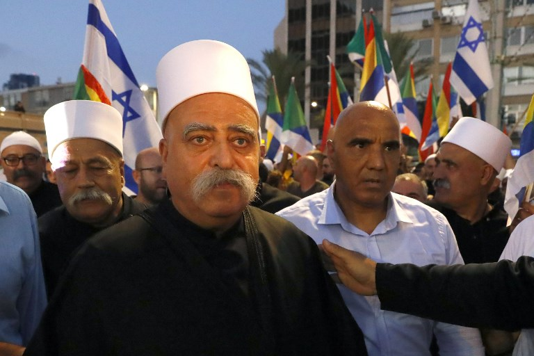 Israel PM Defends Law in Face of Druze Outrage