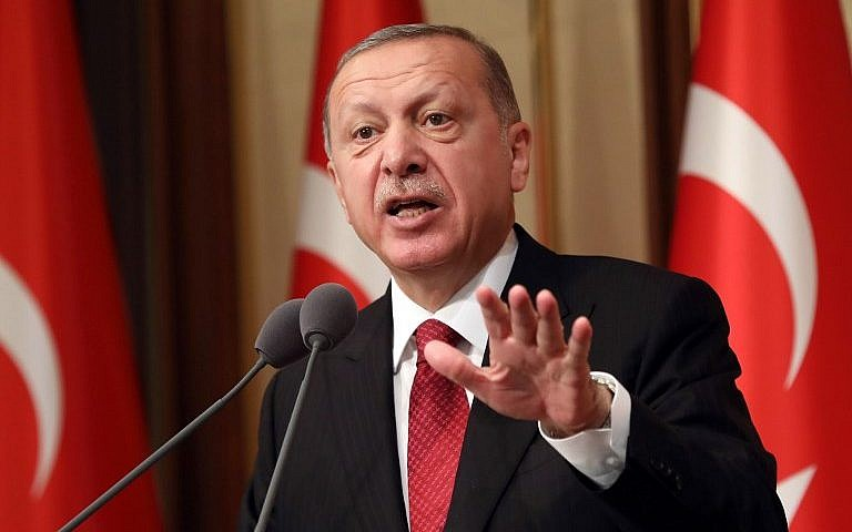 Turkey's Erdogan condemns 'shameful' USA  over detained pastor
