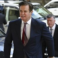 In this photo from June 15, 2018 Paul Manafort arrives for a hearing at US District Court on June 15, 2018 in Washington, DC. (AFP Photo/Mandel Ngan)