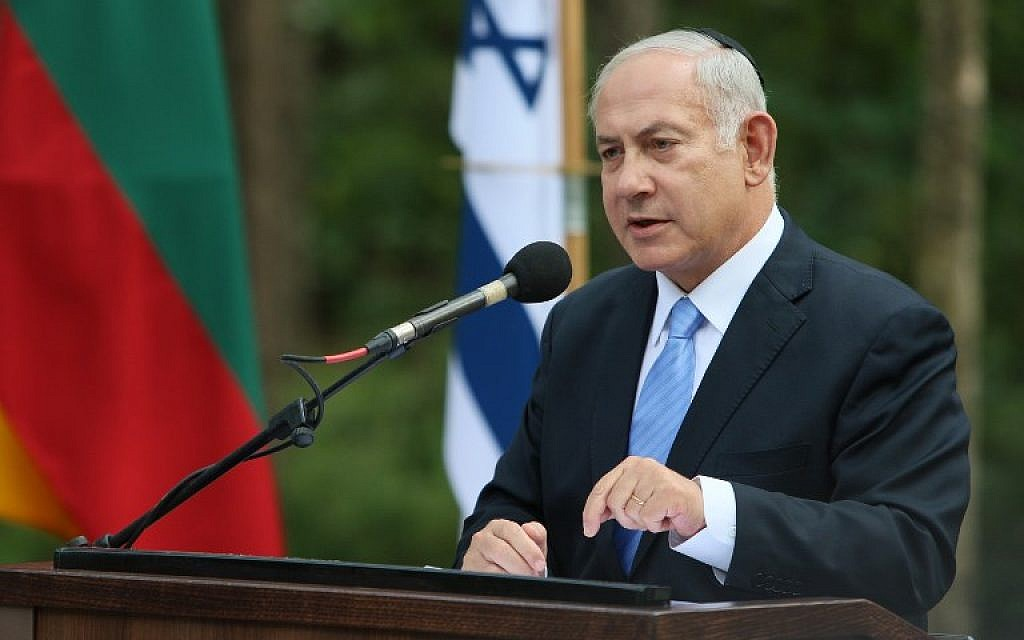 Netanyahu says he sees path to Palestinian peace through ...