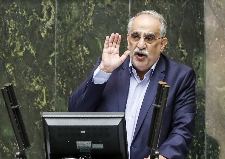 Iranian parliament removes economy minister from office