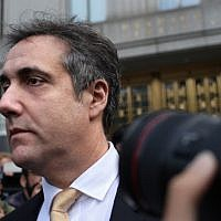 Michael Cohen, former lawyer to US President Donald Trump, exits the Federal Courthouse on August 21, 2018 in New York City (Yana Paskova/Getty Images/AFP)