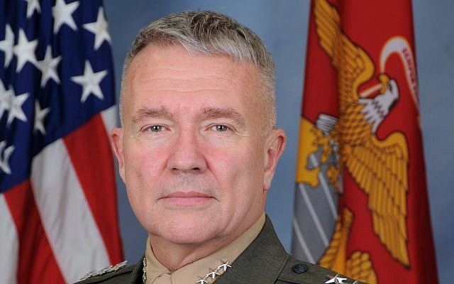 Lt. Gen. Kenneth F. McKenzie Jr., Director, Joint Staff, The Pentagon. (US Joint Chiefs of Staff)