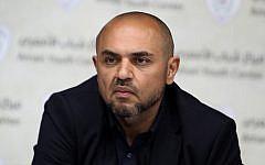 Tarek Abbas, son of Palestinian Authority President Mahmoud Abbas, on June 4, 2014. (Shorouk Zaid / Wafa)