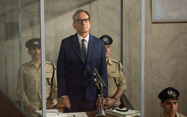 Ben Kingsley as Adolf Eichmann in 'Operation Finale.' (Courtesy MGM)