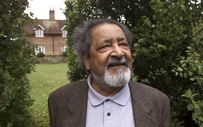 This 2001 file photo shows British author V.S. Naipaul in Salisbury, England. (Chris Ison/PA via AP)