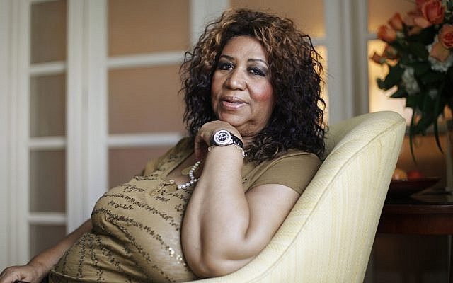In this photo from July 26, 2010, soul singer Aretha Franklin poses for a portrait in Philadelphia. (AP Photo/Matt Rourke, File)