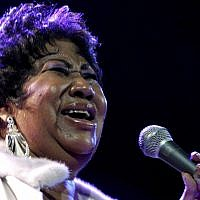 In this photo from November 21, 2008, Aretha Franklin performs at the House of Blues in Los Angeles. (AP Photo/Shea Walsh, file)