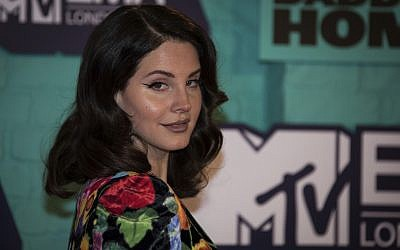 Musician Lana Del Rey poses for photographers upon arrival at the MTV European Music Awards 2017 in London, Sunday, Nov. 12th, 2017. (Photo by Vianney Le Caer/Invision/AP)
