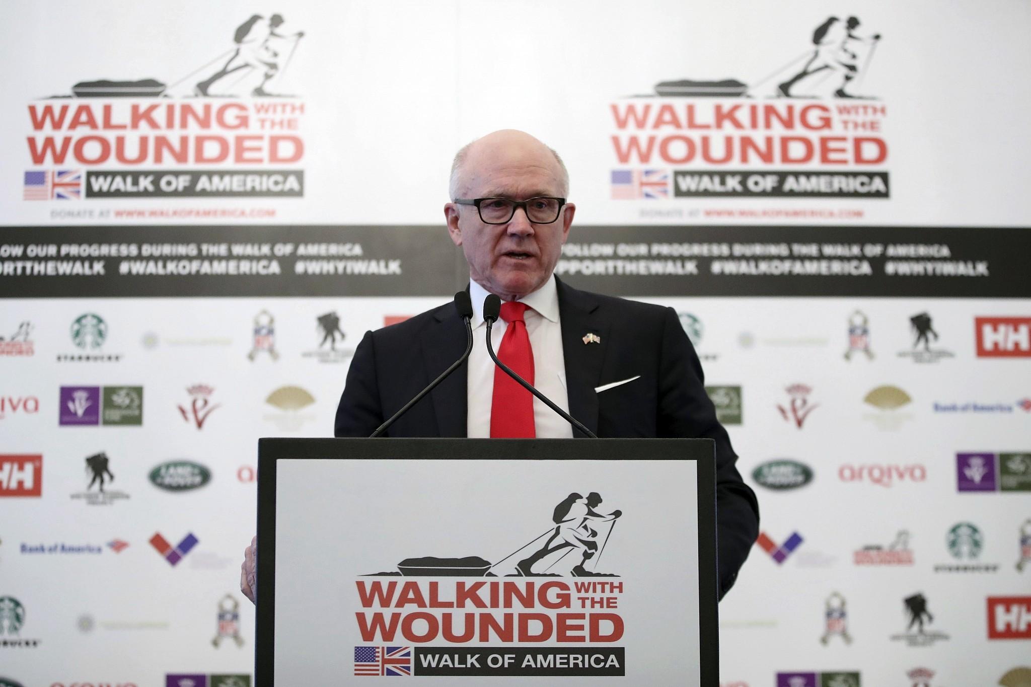United States ambassador urges UK to back Trump on Iran nuke deal